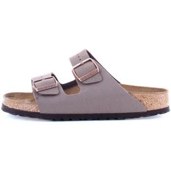 Chaussures Homme Mules Birkenstock 0151183 Chaussons unisexe marron marron