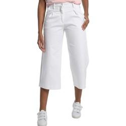 Vêtements Femme Jeans 3/4 & 7/8 Lois Pantalon Jean  Blanc Large 206982041/501 Blanc