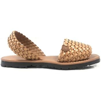 Chaussures Femme Sandales et Nu-pieds Popa California Marron Tressé 37403 003 Marron