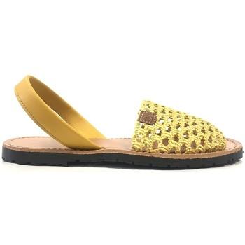 Chaussures Femme Sandales et Nu-pieds Popa California Jaune 30907 008 Jaune