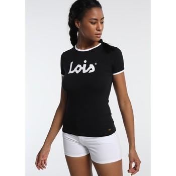 Vêtements Femme T-shirts manches courtes Lois T Shirt Noir 420472094 Noir