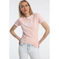 Vêtements Femme T-shirts manches courtes Lois T Shirt Rose 420472094 Rose