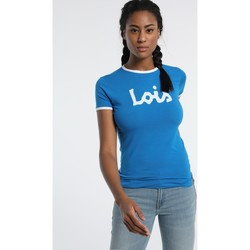 Vêtements Femme T-shirts manches courtes Lois T Shirt Bleu 420472094 Bleu