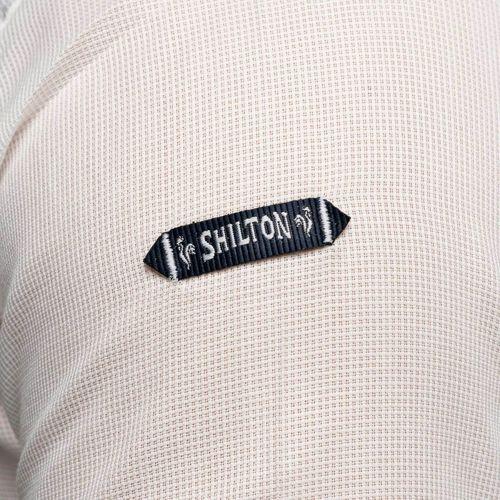 Grosses Soldes Vetements djfs584dDL3L5 Shilton Chemise manches courtes droite légère Blanc