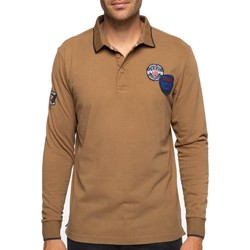 Vêtements Homme Polos manches longues Shilton Polo rugby league Marron