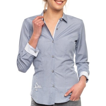 Vêtements Femme Chemises / Chemisiers Shilton Chemise Miss Bleu indigo