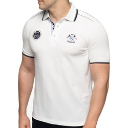 Vêtements Homme Polos manches courtes Shilton Polo rugby France nation Blanc