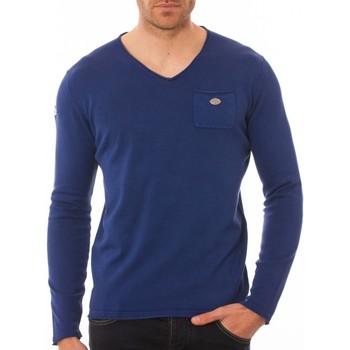 Vêtements Homme Pulls Shilton Pull poche col V Bleu marine