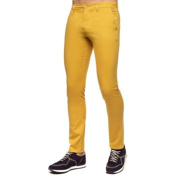 Vêtements Homme Chinos / Carrots Shilton Pantalon chino class67 Jaune