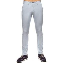 Vêtements Homme Pantalons Shilton Pantalon aspect nid d'abeille Bleu ciel