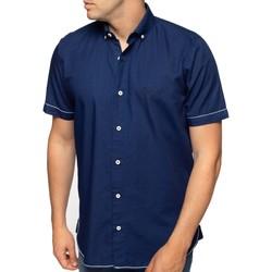 Vêtements Homme Chemises manches courtes Shilton Chemise original compétition Bleu indigo