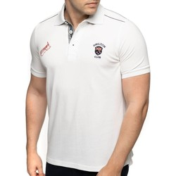 Vêtements Homme Polos manches courtes Shilton Polo rugby manches courtes 4 NATIONS Blanc