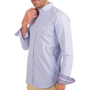 Vêtements Homme Chemises manches longues Shilton Chemise LXVII Bleu ciel