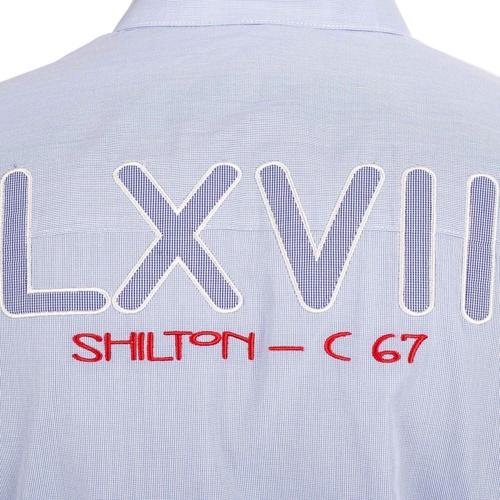 Grosses Soldes Vetements djfs584dDL3L5 Shilton Chemise LXVII Bleu ciel