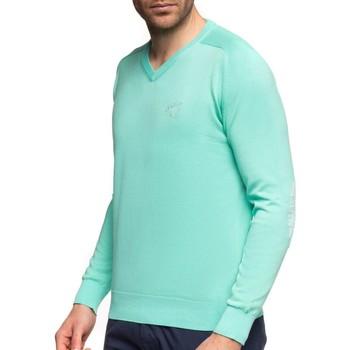 Vêtements Homme Pulls Shilton Pull col V coudières fantaisies Vert