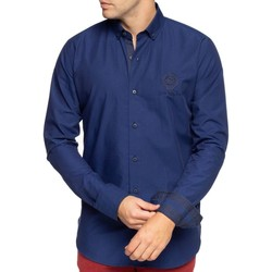 Vêtements Homme Chemises manches longues Shilton Chemise rugby ball Bleu indigo