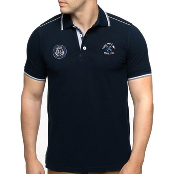 Vêtements Homme Polos manches courtes Shilton Polo rugby France nation Bleu marine