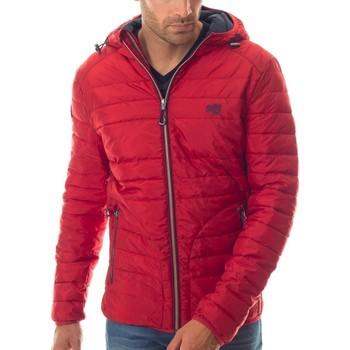 Vêtements Homme Doudounes Shilton Doudoune à capuche 67 Rouge
