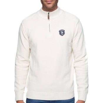 Vêtements Homme Pulls Shilton Pull col zippé coton chenille Beige