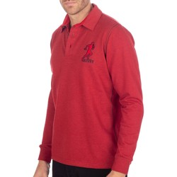 Vêtements Homme Polos manches longues Shilton Polo Rugby Rules Rouge