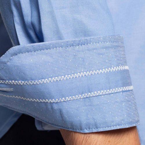 Grosses Soldes Vetements djfs584dDL3L5 Shilton Chemise unie manches longues Bleu ciel