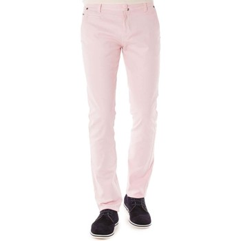 Vêtements Homme Chinos / Carrots Shilton Chino Crinkles Rose