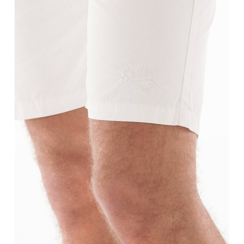 Bermuda triangle Shilton shorts / bermudas homme blanc