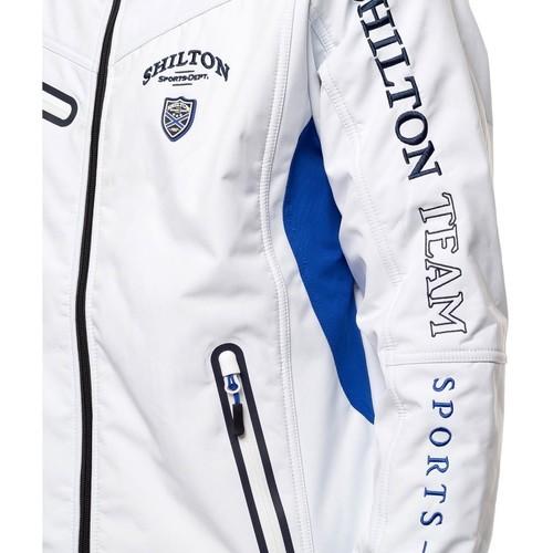 Shilton Veste Softshell TEAM Blanc 18052254 Vestes Homme