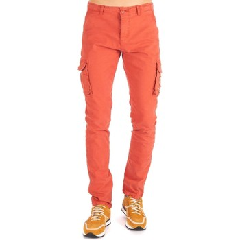 Vêtements Homme Pantalons cargo Shilton Pantalon cargo Orange