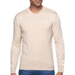 Vêtements Homme Pulls Shilton Pull col V coton laine Beige