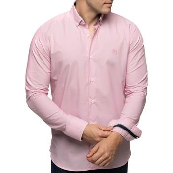 Vêtements Homme Chemises manches longues Shilton Chemise manches longues droite CITY Rose