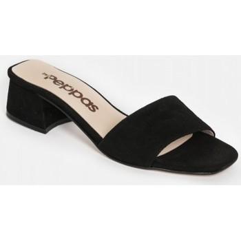 Chaussures Femme Mules By Peppas KAIA Noir