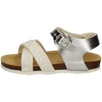 Chaussures Fille Sandales et Nu-pieds Evoca EJ109A BLANC