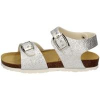 Chaussures Fille Sandales et Nu-pieds Evoca EJ104A ARGENT