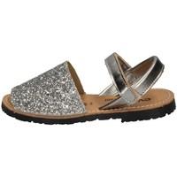 Chaussures Fille Sandales et Nu-pieds Evoca TIA ARGENT