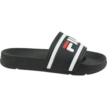 Chaussures Femme Claquettes Fila Morro Bay Slipper 20 Wmn Blanc, Noir