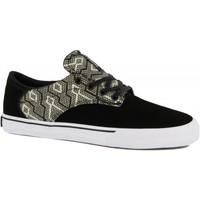 Chaussures Homme Chaussures de Skate Supra pistol black tan white Noir