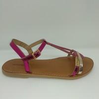 Chaussures Fille Sandales et Nu-pieds Les Tropéziennes par M Belarbi BADA fuchsia rose