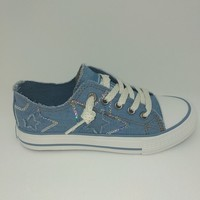 Chaussures Fille Baskets basses Dockers JEANS 46MC609 Multicolor