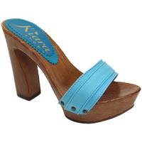 Chaussures Femme Mules Kiara Shoes K12001 Turquoise