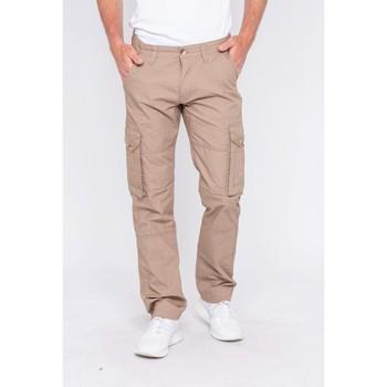 Vêtements Homme Pantalons cargo Ritchie Pantalon battle CABOURG Marron