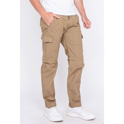 Vêtements Pantalons cargo Ritchie Pantalon transformable en bermuda CACHAN Beige