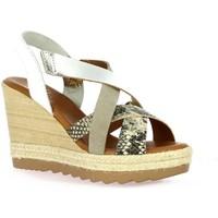 Chaussures Femme Sandales et Nu-pieds Ettê Ettê Nu pieds cuir Blanc