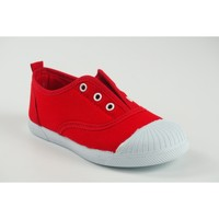 Chaussures Fille Baskets basses Vulca Bicha Toile enfant  625 rouge Rouge