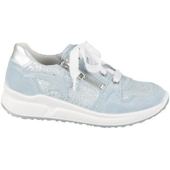Chaussures Enfant Baskets basses Superfit 06061858500 Argent, Bleu