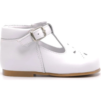 Chaussures Enfant Ballerines / babies Boni & Sidonie Chaussures premier pas - CAROL Blanche