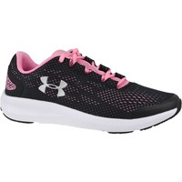 Chaussures Fille Running / trail Under Armour GS Charged Pursuit 2 Noir,Rose