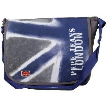 Sacs Femme Sacs porté main Pepe jeans Gibecière à rabat drapeau Anglais  613165 bleu