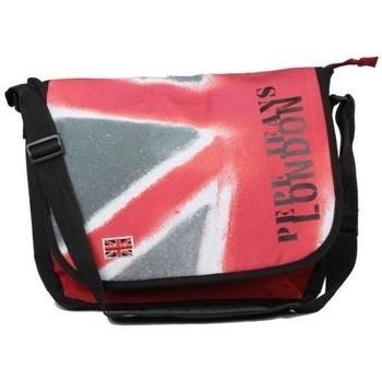Sacs Femme Sacs porté main Pepe jeans Gibecière à rabat drapeau Anglais  613165 rouge