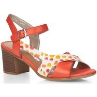 Chaussures Femme Sandales et Nu-pieds Remonte Dorndorf D2151-34 rouge